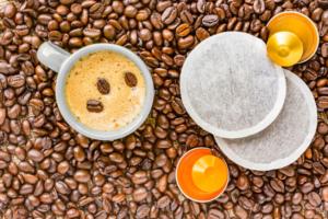 kaffeepadmaschine pads und bohnen